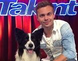 Lukas Pratschker und sein Hund Falco