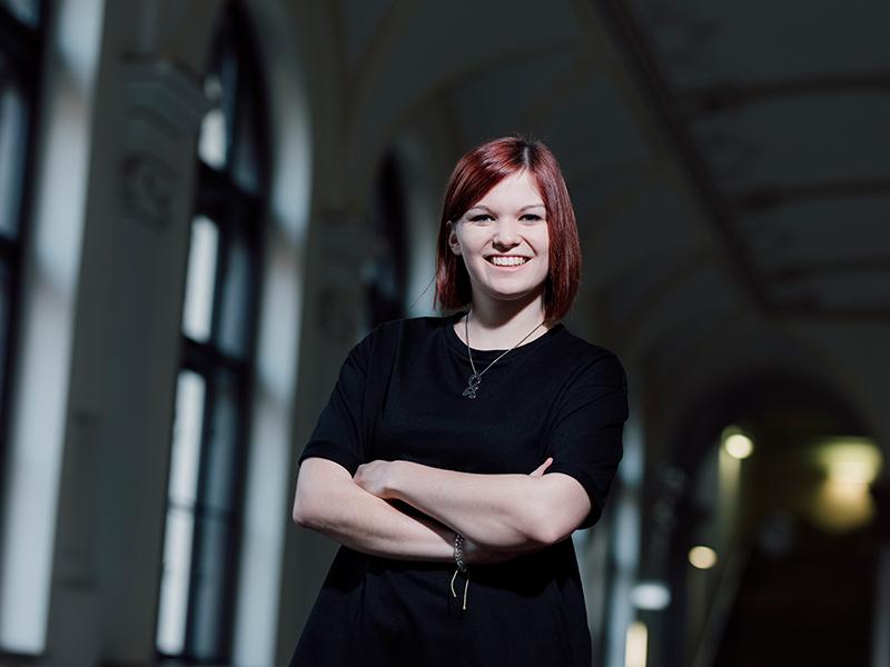 """Lisa Schantl, die Gründerin von """"Tint Journal"""""""