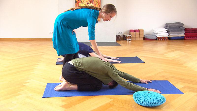 Bewusst gesund Rücken Yoga