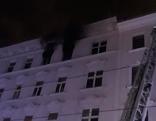 Hausfassade Brand