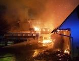 Wirtschaftsgebäudebrand Bergl