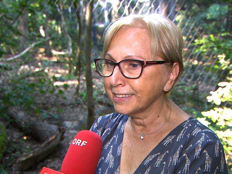 Tiergarten-Direktorin Dagmar Schratter