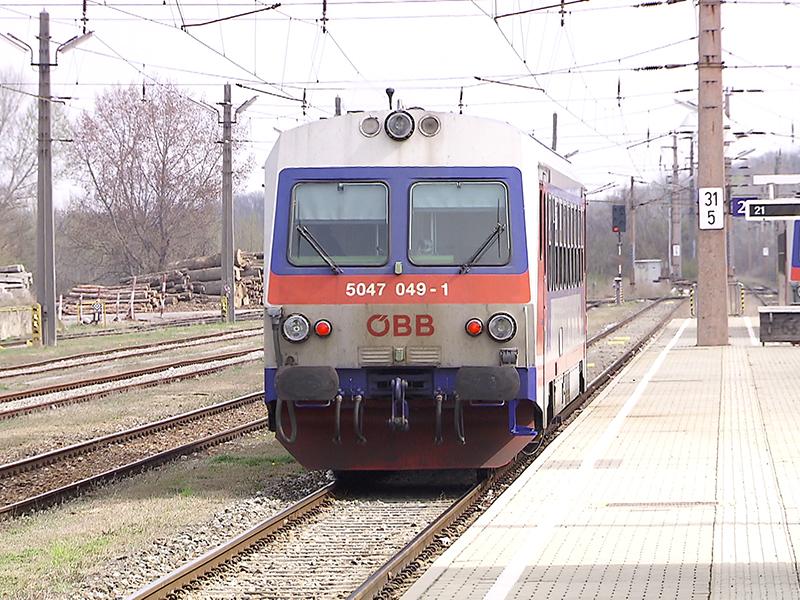 Bahn am Schweinbarther Kreuz
