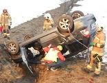 Schwerer Verkehrsunfall bei Saalfelden