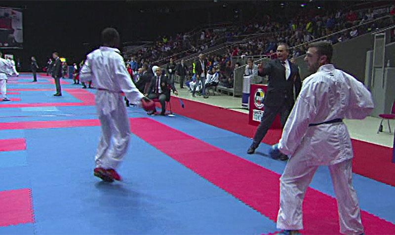 Stefan Pokorny , Karateturnier Salzburg Arena