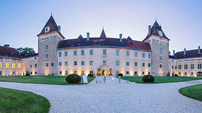 Außenansicht Schloss Walpersdorf