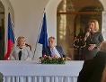 Miloš Zeman prezident 2019 Ivana Červenková