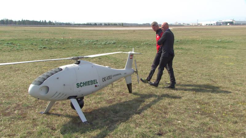 Drohnen, Bergrettung, Schiebel, Wiener Neustadt