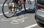 Gefahrensituation mit Radfahrer