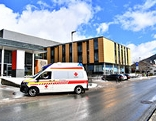 Aussenansicht des Landeskrankenhauses in Schladming