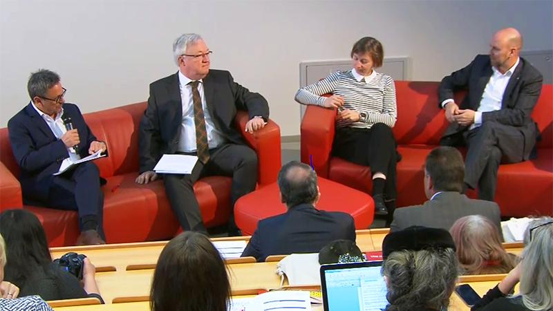 Diskutanten bei der RegioMedia-Konferenz