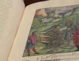 Kaiser Maximilian als Ritter Theuerdank illustriert