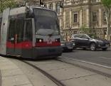 Straßenbahn am Universitätsring