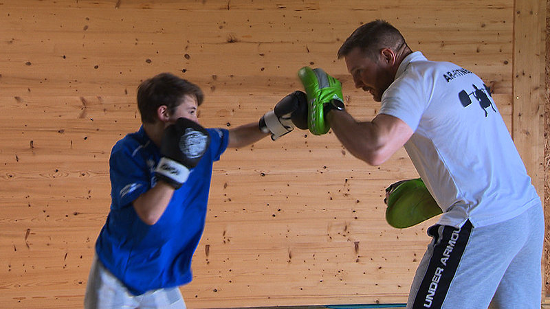 Sport im Ort Boxen, Peter Nagy, Wolfgang Reiterer
