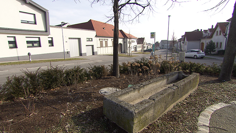 Ehemaliger Dorfbrunnen in Kleinhöflein