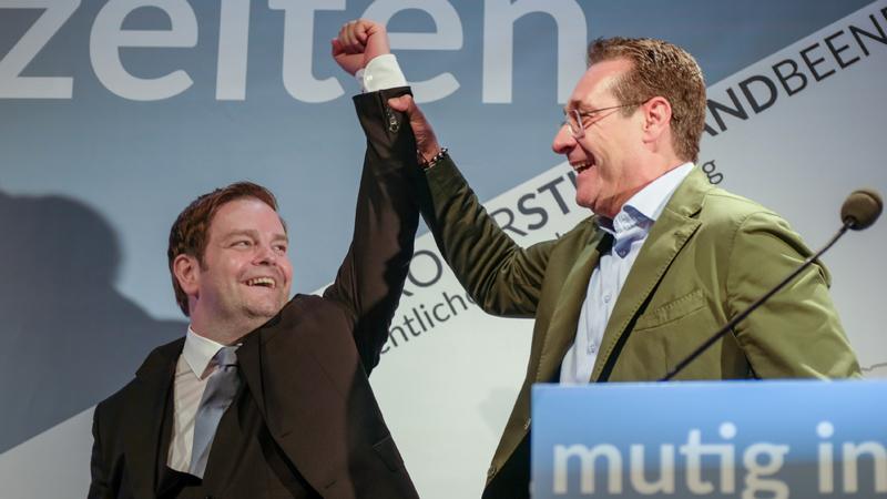 Markus Abwerzger und HC Strache