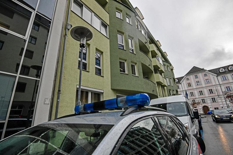 Tatort in der Michael Gaismairstraße Innsbruck