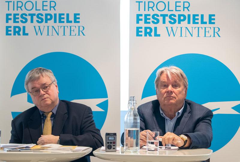 Bernd Loebe und Hans Peter Haselsteiner