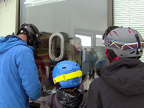 Skifahrer Lachtal