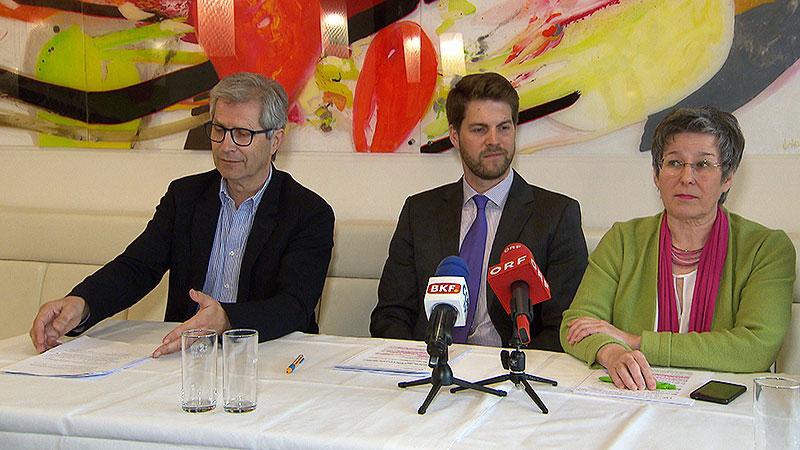 Manfred Kölly, Christoph Wolf, Regina Petrik