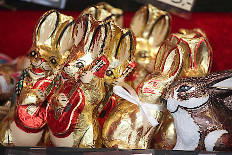 Ostern Schokoosterhase Süßigkeiten Osternest Handel