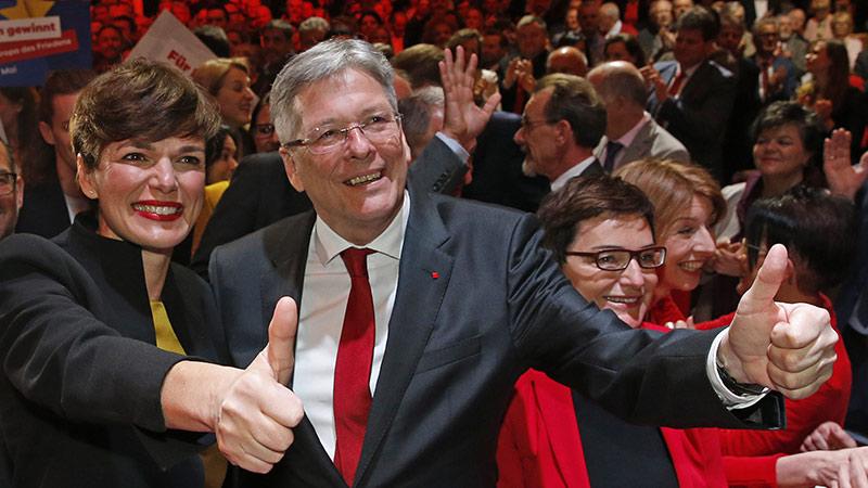 Pamela Rendi Wagner und Peter Kaiser SPÖ