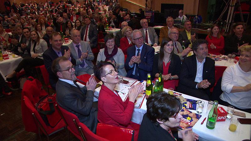 SPÖ Parteitag Publikum