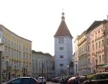 Stadtplatz Wels rund um Ledererturm