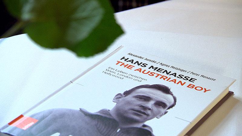 Hans und Peter Menasse sprechen über das Buch  the Austrian Boy