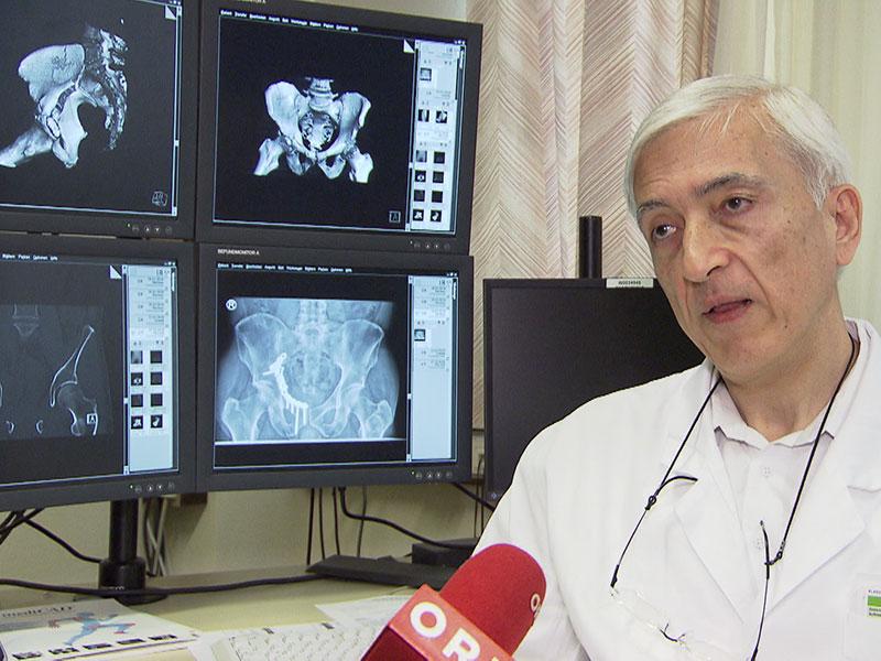 Mehdi Mousavi, der Leiter Unfallchirurgie im SMZ-Ost