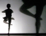 Schatten einer Ballerina