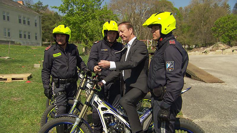 Saisonstart für Motorradpolizisten