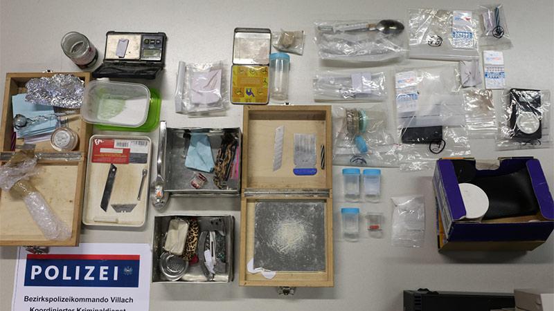 Drogenfund Klagenfurt Villach Bande Dealer
