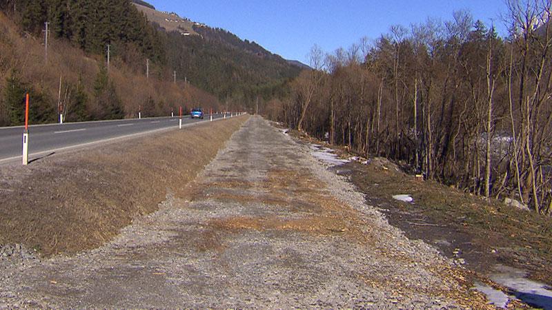 Schotterweg Ersatz Drauradweg