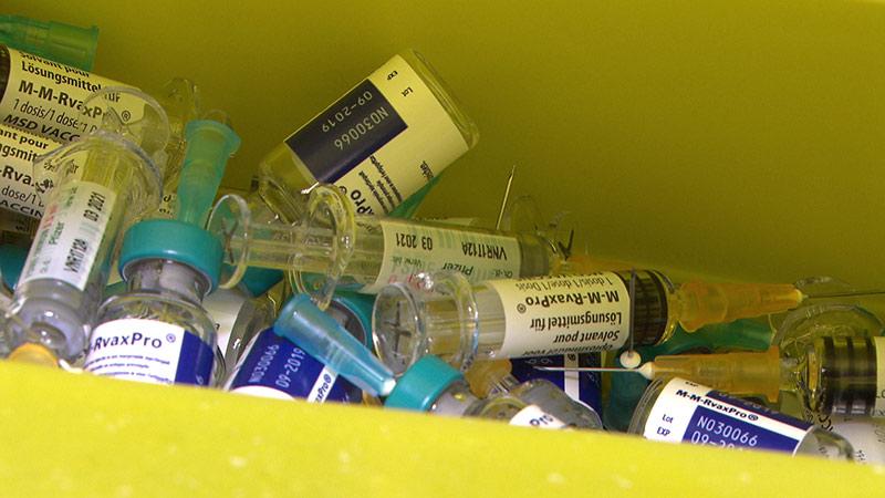 Masern Gesundheitsamt Impfungen Spritzen