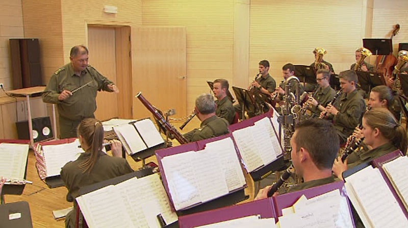 Vorspielen Militärmusik