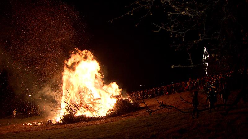 Osterfeuer Gefahr Feuerwehren Trockenheit Warnung