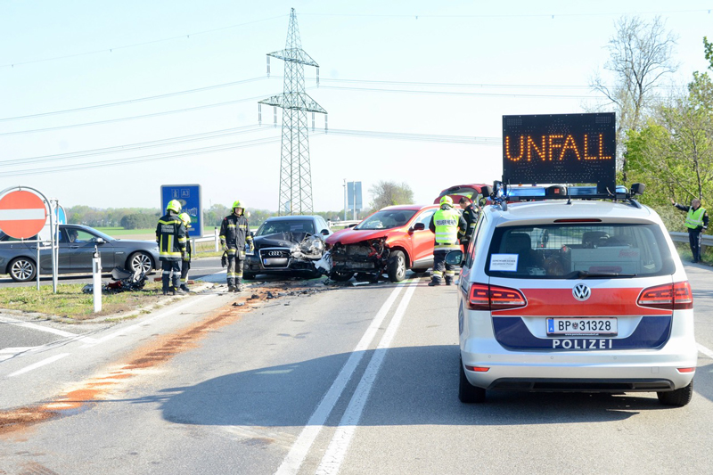 Reiseverkehr Unfälle Ostern A1