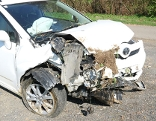 Verkehrsunfall Tauka