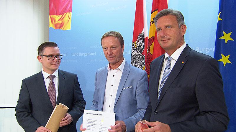 Geza Molnar, Johann Tschürtz, Ewald Schnecker