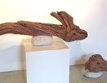 Holzskulptur von Walter Hold