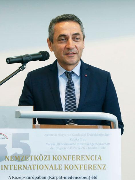 Potápi Árpád László nemzetpolitikai államtitkár