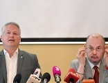 David Ellensohn (l./Grüne) und Peter Florianschütz (SPÖ)