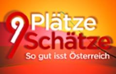 """Logo 9 Plätze 9 Schätze """"So gut isst Österreich"""""""