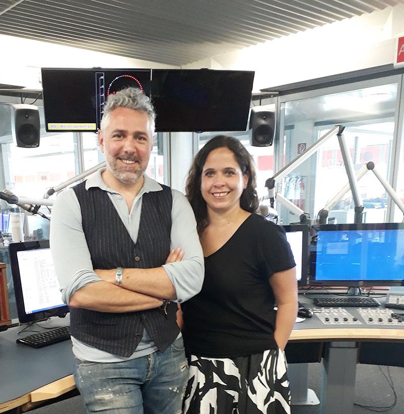 Roland Trettl und Gabi Kerschbaumer