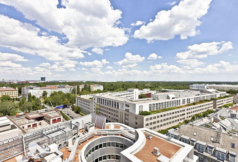 Volksbank Zentrale neu in Erdberg