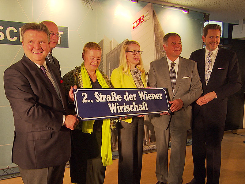 Eröffnung Wirtschaftskammer Wien
