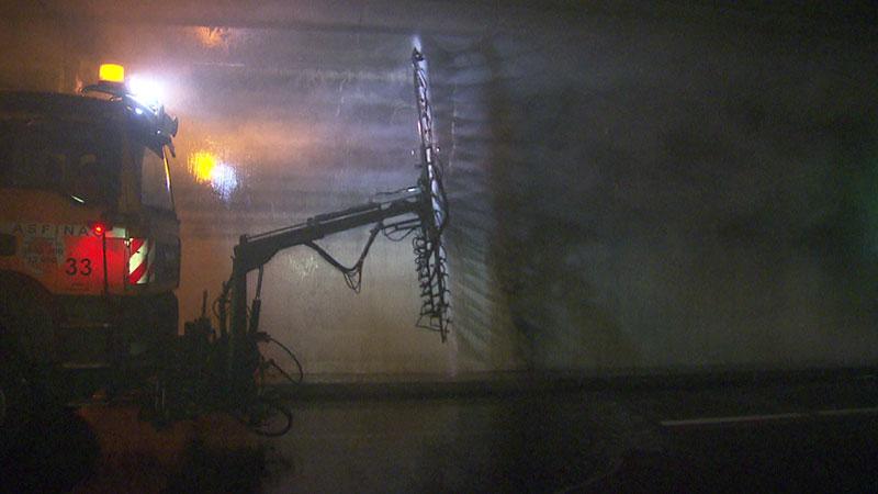 S1 Tunnel Rannersdorf Aufräumarbeiten