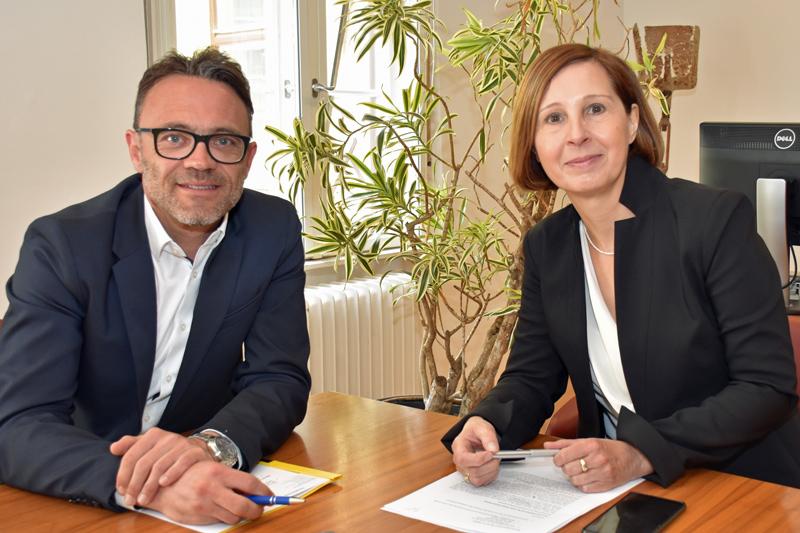 Johann Aigner und Gabriele Fischer