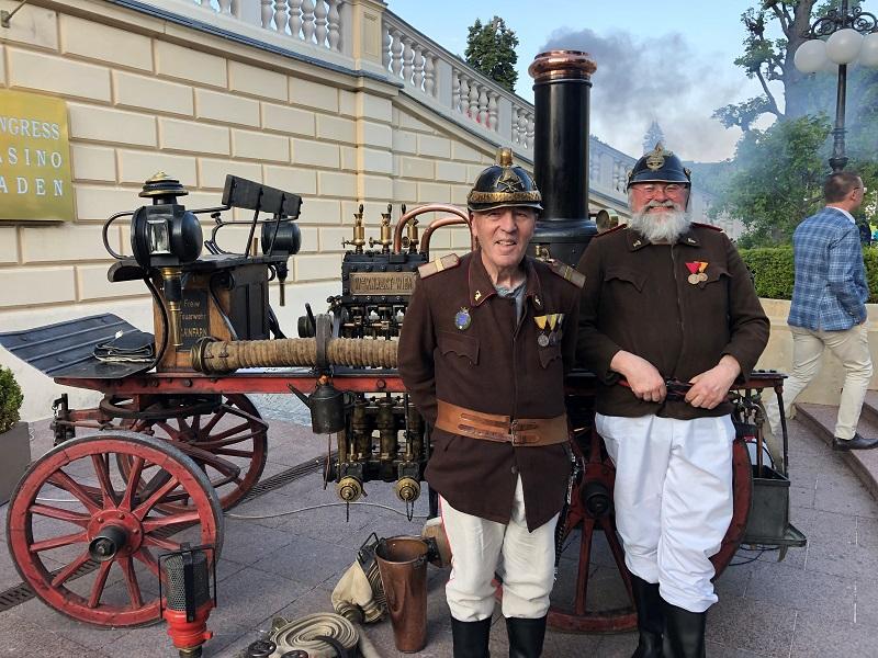 Florianifeier 150 Jahre Landesfeuerwehrverband in Baden